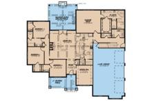 European Floor Plan - Main Floor Plan Plan #923-76