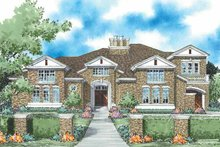 Dream House Plan - European Exterior - Front Elevation Plan #930-333