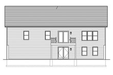 Ranch Exterior - Rear Elevation Plan #1010-137