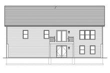 Home Plan - Ranch Exterior - Rear Elevation Plan #1010-137