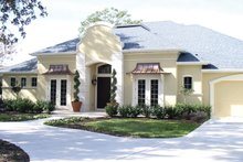Architectural House Design - European Exterior - Front Elevation Plan #1058-52