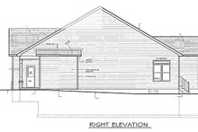 House Plan Design - Ranch Exterior - Other Elevation Plan #1010-22