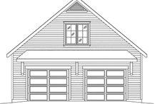 Dream House Plan - Country Exterior - Front Elevation Plan #22-577
