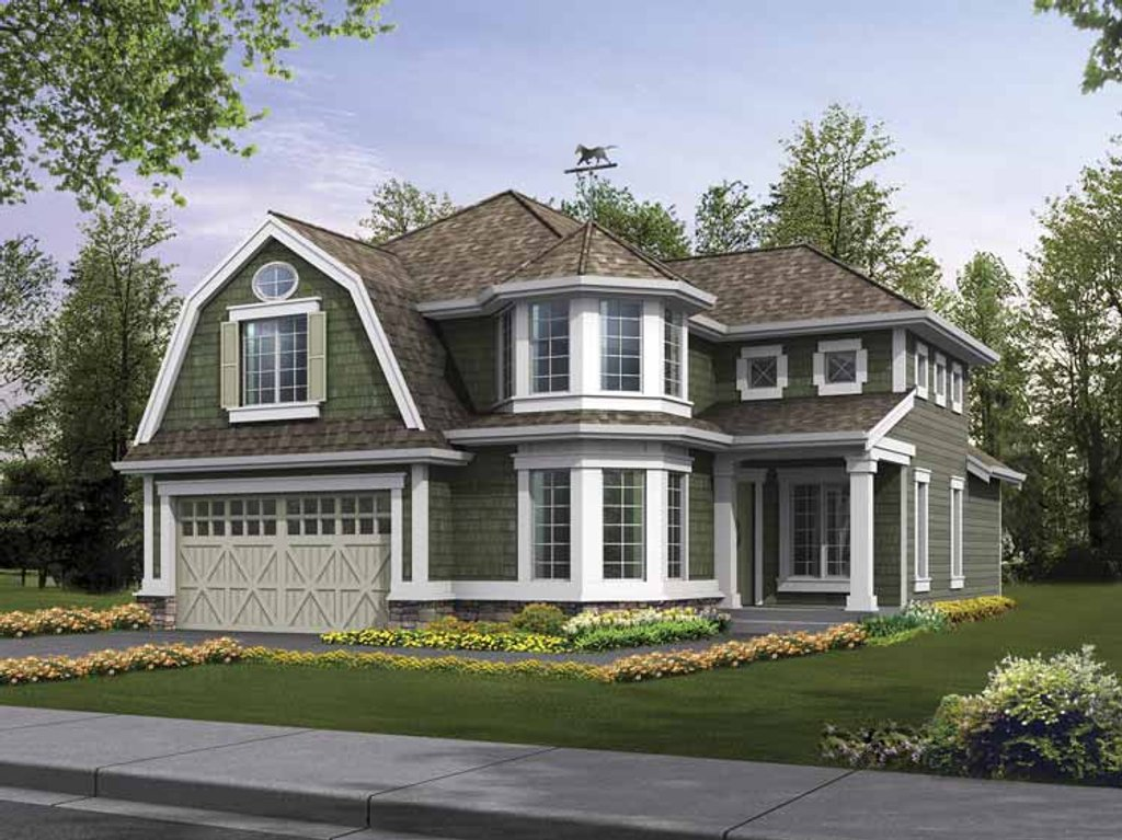 Craftsman Style House Plan 5 Beds 3 5 Baths 4582 Sq Ft