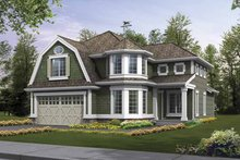 Dream House Plan - Craftsman Exterior - Front Elevation Plan #132-371