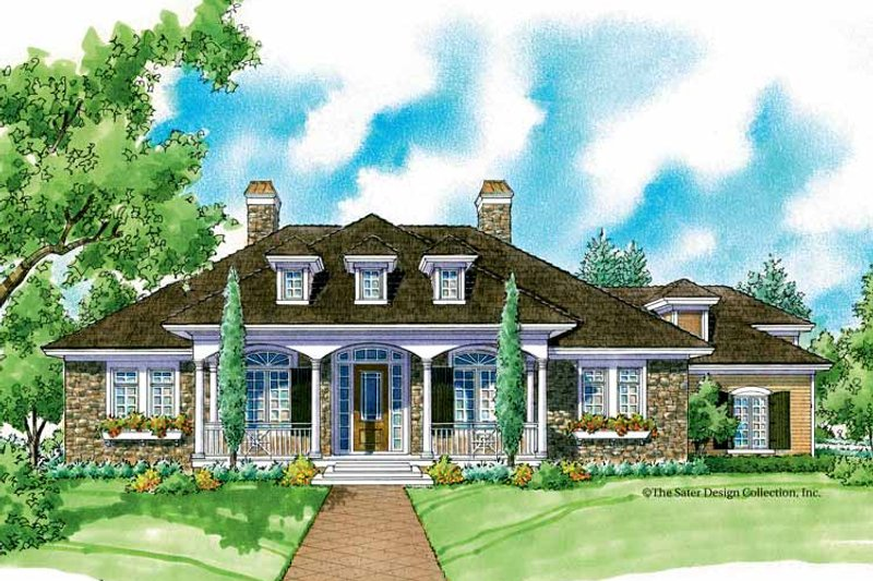 Country Exterior - Front Elevation Plan #930-217 - Houseplans.com