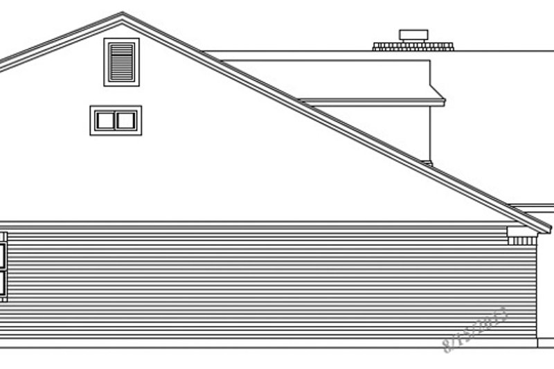 Exterior - Other Elevation Plan #472-71 - Houseplans.com