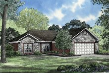 Home Plan - European Exterior - Front Elevation Plan #17-3112