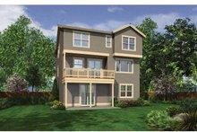 Craftsman Exterior - Rear Elevation Plan #132-559
