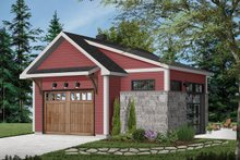 Craftsman Exterior - Front Elevation Plan #23-2717