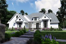 House Plan Design - Farmhouse Exterior - Front Elevation Plan #120-259