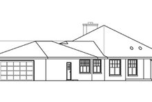 Dream House Plan - Ranch Exterior - Other Elevation Plan #124-575
