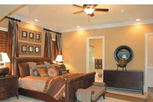 Colonial Interior - Master Bedroom Plan #927-587