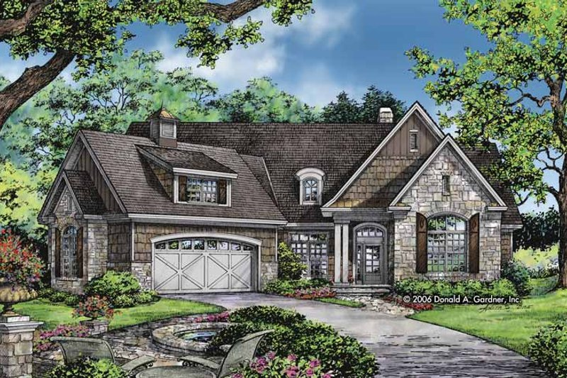 Home Plan - Craftsman Exterior - Front Elevation Plan #929-827