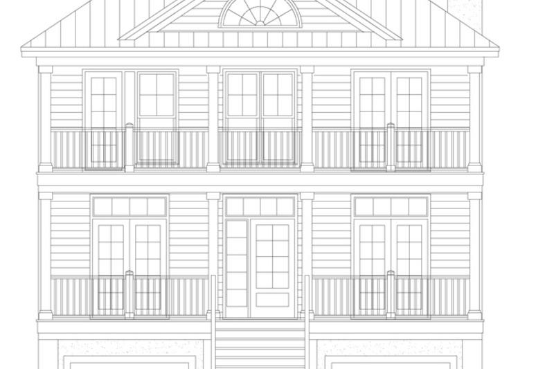 Classical Exterior - Front Elevation Plan #929-506 - Houseplans.com