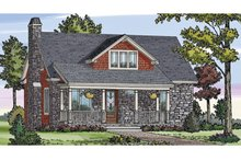 Dream House Plan - Craftsman Exterior - Front Elevation Plan #314-276