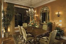 Architectural House Design - Mediterranean Interior - Dining Room Plan #1039-1