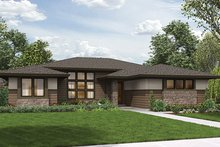 House Design - Contemporary Exterior - Front Elevation Plan #48-917