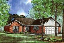 House Plan Design - Ranch Exterior - Front Elevation Plan #17-3261
