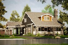 Home Plan - Country Exterior - Front Elevation Plan #923-149