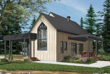 Dream House Plan - Modern Exterior - Front Elevation Plan #23-2676