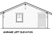 Bungalow Style House Plan - 3 Beds 2 Baths 1564 Sq/Ft Plan #490-26 Exterior - Other Elevation