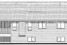 Traditional Exterior - Rear Elevation Plan #18-323