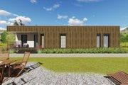 Modern Style House Plan - 2 Beds 2 Baths 1687 Sq/Ft Plan #549-8 Photo