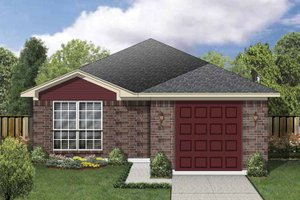 Dream House Plan - Traditional Exterior - Front Elevation Plan #84-667