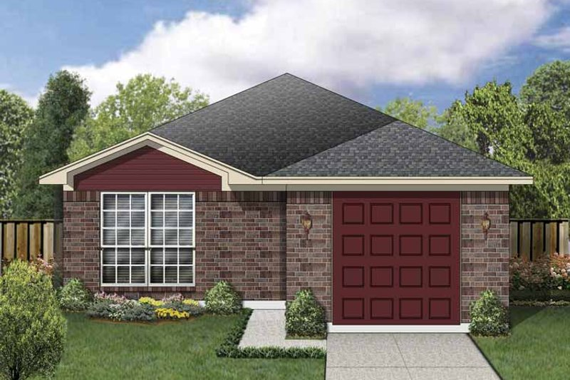 House Plan Design - Traditional Exterior - Front Elevation Plan #84-667