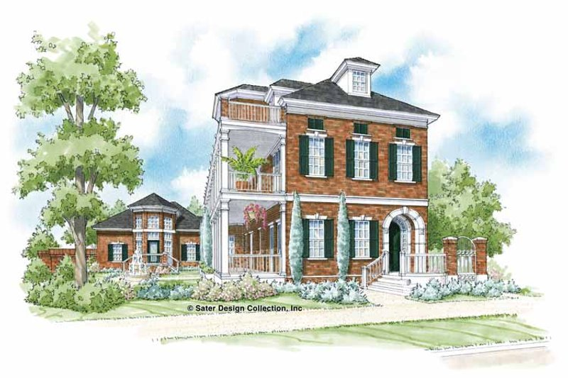Traditional Exterior - Front Elevation Plan #930-359