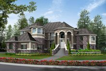 Country Exterior - Front Elevation Plan #132-483