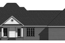 Ranch Exterior - Rear Elevation Plan #21-437