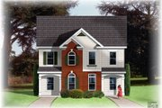Traditional Style House Plan - 2 Beds 1.5 Baths 2088 Sq/Ft Plan #26-225 Exterior - Front Elevation