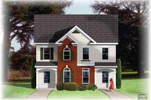 Traditional Exterior - Front Elevation Plan #26-225