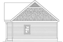 House Plan Design - Cottage Exterior - Other Elevation Plan #22-606