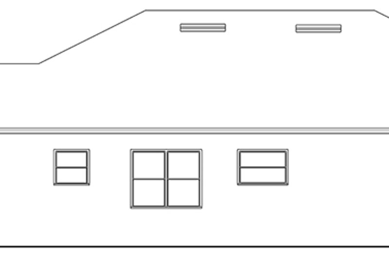 Ranch Exterior - Other Elevation Plan #1058-109 - Houseplans.com