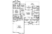 Country Floor Plan - Main Floor Plan Plan #21-320