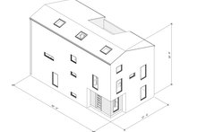 Dream House Plan - Modern Exterior - Other Elevation Plan #1076-3