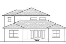 Contemporary Exterior - Rear Elevation Plan #938-92