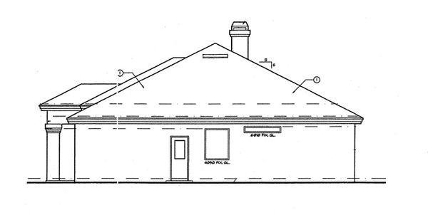 Mediterranean Floor Plan - Other Floor Plan Plan #417-486