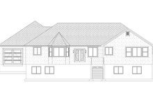Farmhouse Exterior - Rear Elevation Plan #1060-47