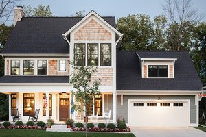 Traditional Exterior - Front Elevation Plan #928-299