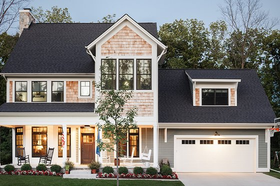 Home Plan - Traditional Exterior - Front Elevation Plan #928-299