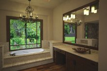 House Plan Design - Cottage Interior - Master Bathroom Plan #120-244