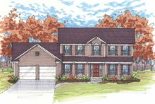 Home Plan - Traditional Exterior - Front Elevation Plan #435-15