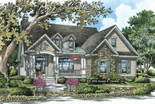 Dream House Plan - Craftsman Exterior - Front Elevation Plan #929-795