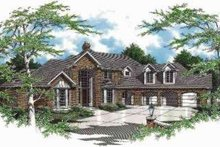Dream House Plan - Traditional Exterior - Front Elevation Plan #48-149