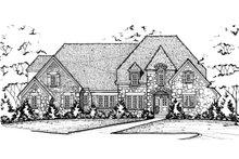 Home Plan - European Exterior - Front Elevation Plan #20-2276