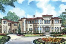 Architectural House Design - European Exterior - Front Elevation Plan #417-798